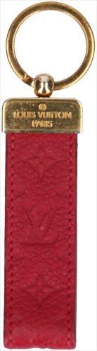 30699 Louis Vuitton Monogram Empreinte Leder In Fuchsia Schlüsselanhänger Dragonne