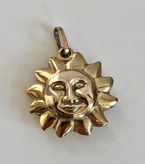 333 Gold Amulett, Talisman, Glücksbringer Anhänger Goldanhänger 8k