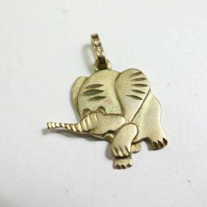 333 gold Elefant Kettenanhänger 8k Goldanhänger anhänger