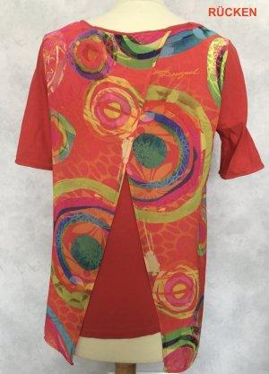 Desigual Wraparound Shirt multicolored cotton