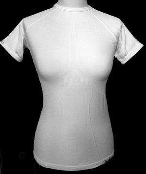 34 36 S ODLO EVOLUTION light Sport shirt Hemd Unterhemd weiß white tiptop