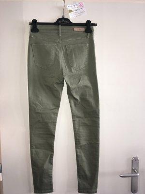 Colins Drainpipe Trousers khaki-green grey
