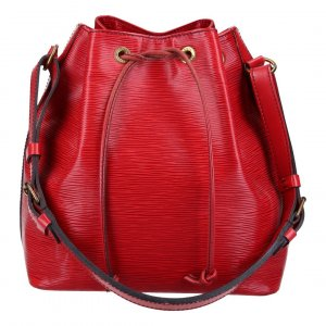 35775 LOUIS VUITTON NOÉ PETIT MODEL SCHULTERTASCHE AUS EPI LEDER IN CASTILLIAN ROT