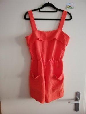 36 jumpsuit einteiler H&M orange rot