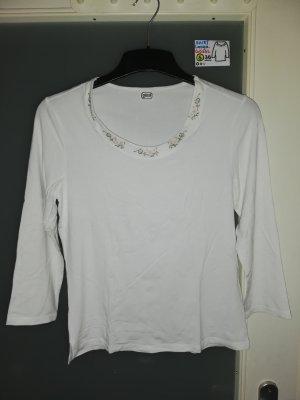 36 Shirt langärmlig Gössl weiß