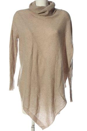360 Sweater Pull en cashemire crème style décontracté