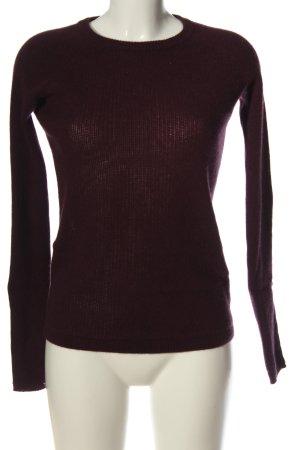 360 Sweater Crochet Sweater brown striped pattern casual look