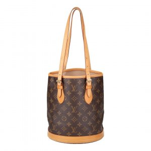 36161 LOUIS VUITTON BUCKET PM HANDTASCHE AUS MONOGRAM CANVAS