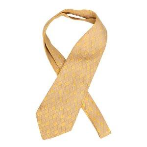 Chanel Casual Cravat yellow-camel silk