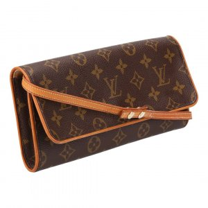 36303 LOUIS VUITTON POCHETTE TWIN GM CLUTCH AUS MONOGRAM CANVAS