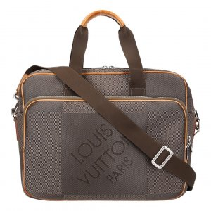 36323 LOUIS VUITTON ASSOCIE GM UMHÄNGETASCHE AUS DAMIER GEANT CANVAS IN TERRE
