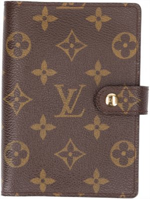 Louis Vuitton Estuche color bronce-marrón