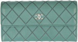 36485 Chanel CC Geldbörse aus Leder mit Box und ID-Karte