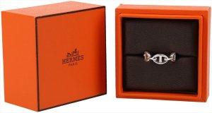 36757 Hermès Ring Chaine D'Ancre aus 925er Silber in Größe 56 mit Box