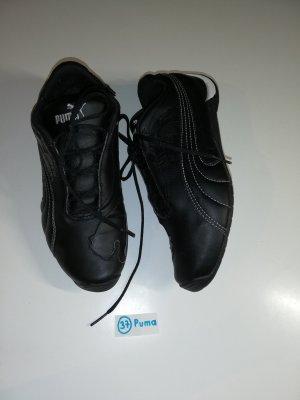 37 Schuhe sneaker puma schwarz weiß