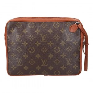 37095 LOUIS VUITTON POCHETTE SPORT CLUTCH AUS MONOGRAM CANVAS