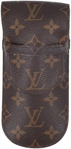 Louis Vuitton Gafas color bronce-marrón Cuero