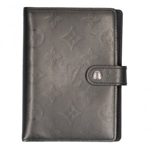 37237 LOUIS VUITTON AGENDA FONCTIONNEL PM AUS MONOGRAM MAT LEDER