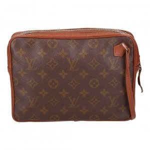 37246 LOUIS VUITTON POCHETTE SPORT CLUTCH AUS MONOGRAM CANVAS