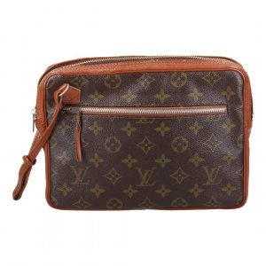 37498 LOUIS VUITTON POCHETTE SPORT CLUTCH AUS MONOGRAM CANVAS