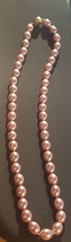 375 Goldverschluss an Perlenkette