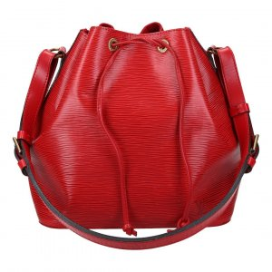 37557 LOUIS VUITTON NOÉ PETIT MODEL SCHULTERTASCHE AUS EPI LEDER IN CASTILLIAN ROT