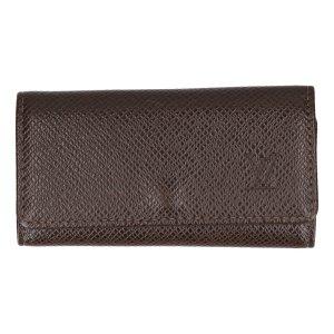 37590 Louis Vuitton Multiclés Etui für 4 Schlüssel - Schlüsselanhänger aus Taiga Leder in Grizzly Braun