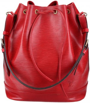 37786 LOUIS VUITTON NOE GM SCHULTERTASCHE AUS EPI LEDER IN CASTILLIAN ROT