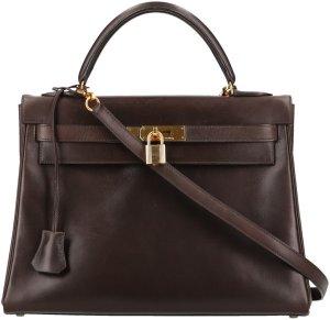 38095 Hermès Kelly 32 Handtasche aus Leder mit Schulterriemen