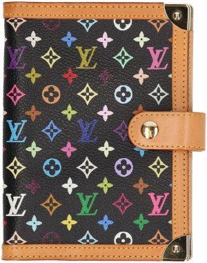 Louis Vuitton Writing Case black-apricot leather
