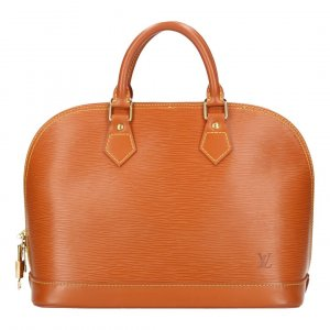 38179 LOUIS VUITTON ALMA PM HENKELTASCHE AUS EPI LEDER IN CHIPANGO GOLD