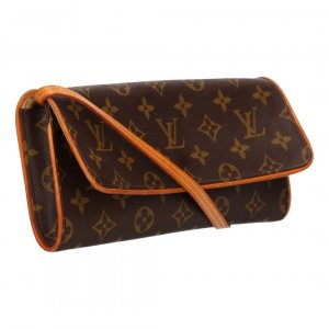 38235 LOUIS VUITTON POCHETTE TWIN GM CLUTCH AUS MONOGRAM CANVAS