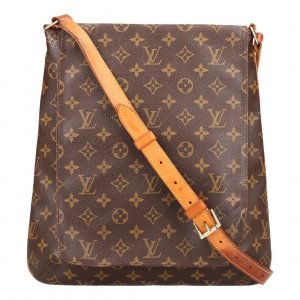 38296 LOUIS VUITTON MUSETTE SALSA GM UMHÄNGETASCHE AUS MONOGRAM CANVA