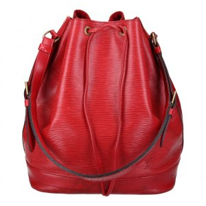 38468 LOUIS VUITTON NOE GM SCHULTERTASCHE AUS EPI LEDER IN CASTILLIAN ROT