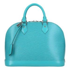 Louis Vuitton Borsa con manico azzurro-turchese