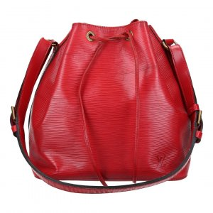 38685 LOUIS VUITTON NOÉ PETIT MODEL SCHULTERTASCHE AUS EPI LEDER IN CASTILLIAN ROT