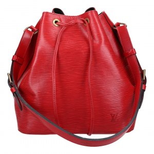 38849 LOUIS VUITTON NOÉ PETIT MODEL SCHULTERTASCHE AUS EPI LEDER IN CASTILLIAN ROT