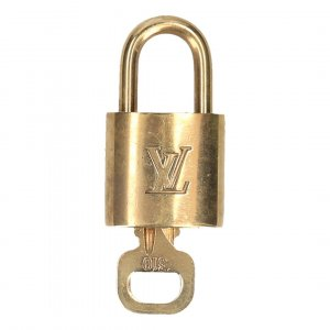 38918 Louis Vuitton Schloss mit einem Schlüssel No. 310 Farbe gold - Messing
