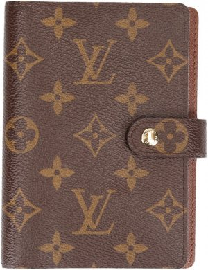 39069 LOUIS VUITTON AGENDA FONCTIONNEL PM AUS MONOGRAM CANVAS