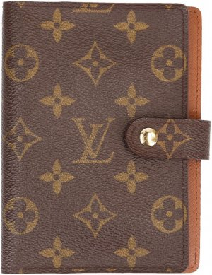 39075 LOUIS VUITTON AGENDA FONCTIONNEL PM AUS MONOGRAM CANVAS