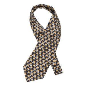 Chanel Foulard en soie bleu