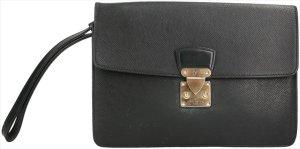 39469 Louis Vuitton Pochette Kourad Clutch Handtasche aus Taiga Leder in Epicea Grün