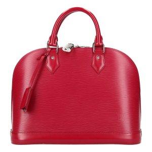 Louis Vuitton Borsa con manico rosso neon-magenta Pelle