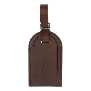 Louis Vuitton Portachiavi marrone scuro Pelle