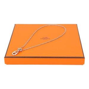 39732 Hermès Halskette aus 925er Silber mit Box