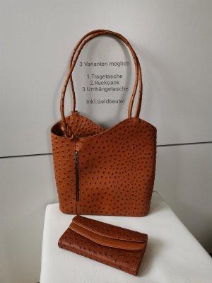 3in1 Rucksack-Tasche mit Geldbeutel