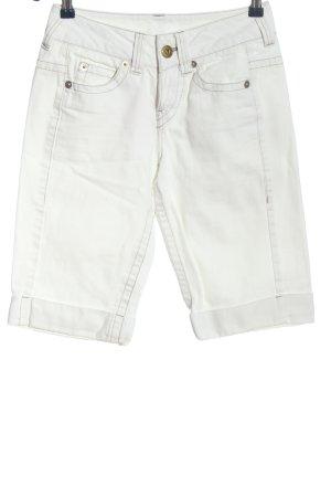 3suisses Bermudy biały W stylu casual