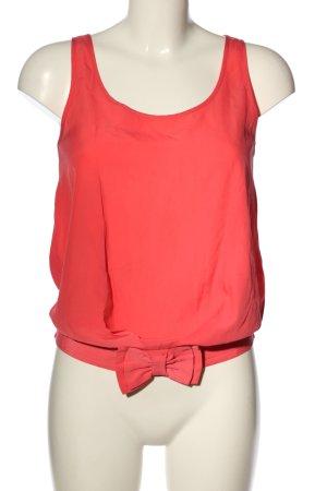 3suisses Top koszulowy czerwony W stylu casual