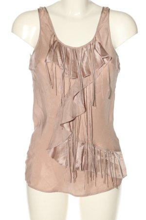 3suisses Top koszulowy nude Ekstrawagancki styl