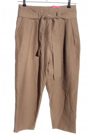 3suisses Pantalón de pinza marrón look casual